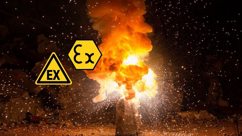 Explosion protection and potentially explosive zones