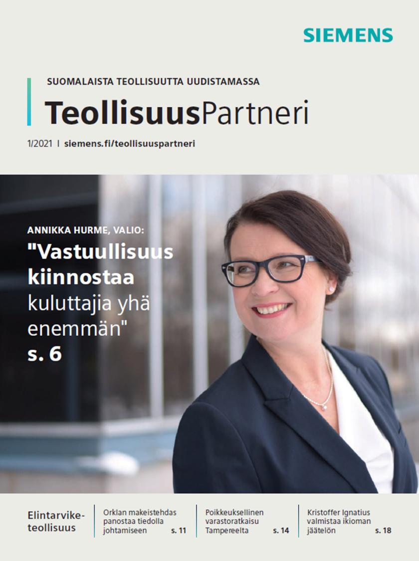 TeollisuusPartneri, Siemensin asiakaslehti