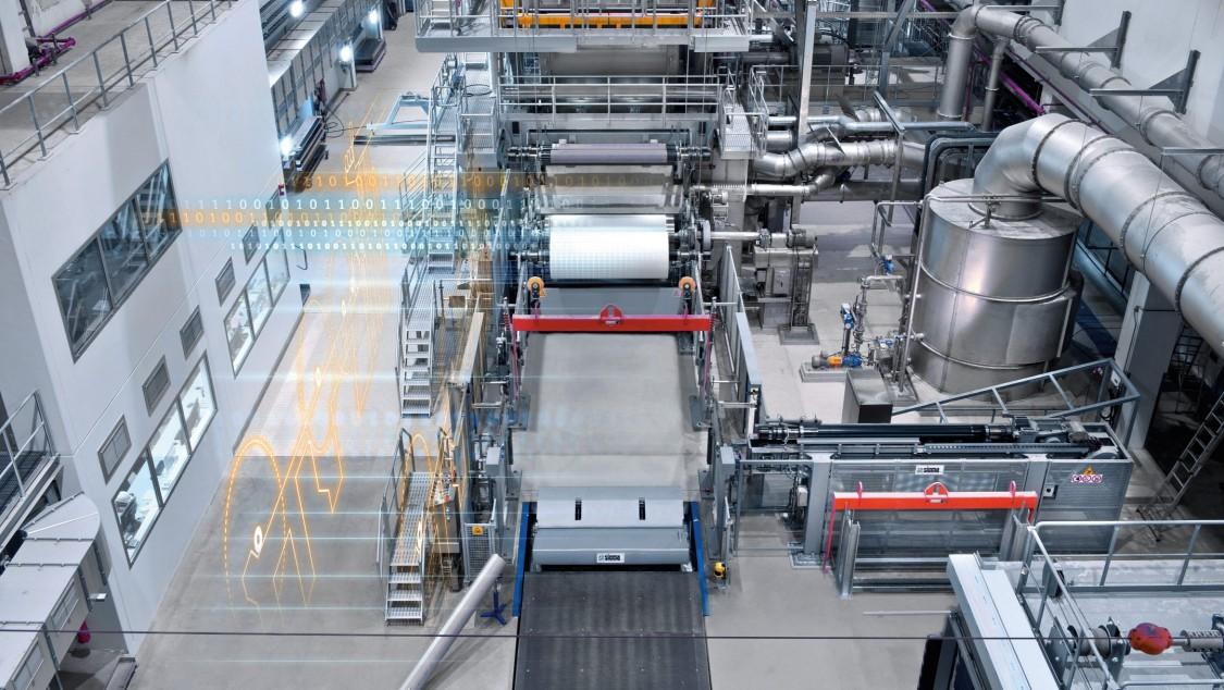 Industriesoftware und Digitalisierung für Pulp, Papier, und Tissue