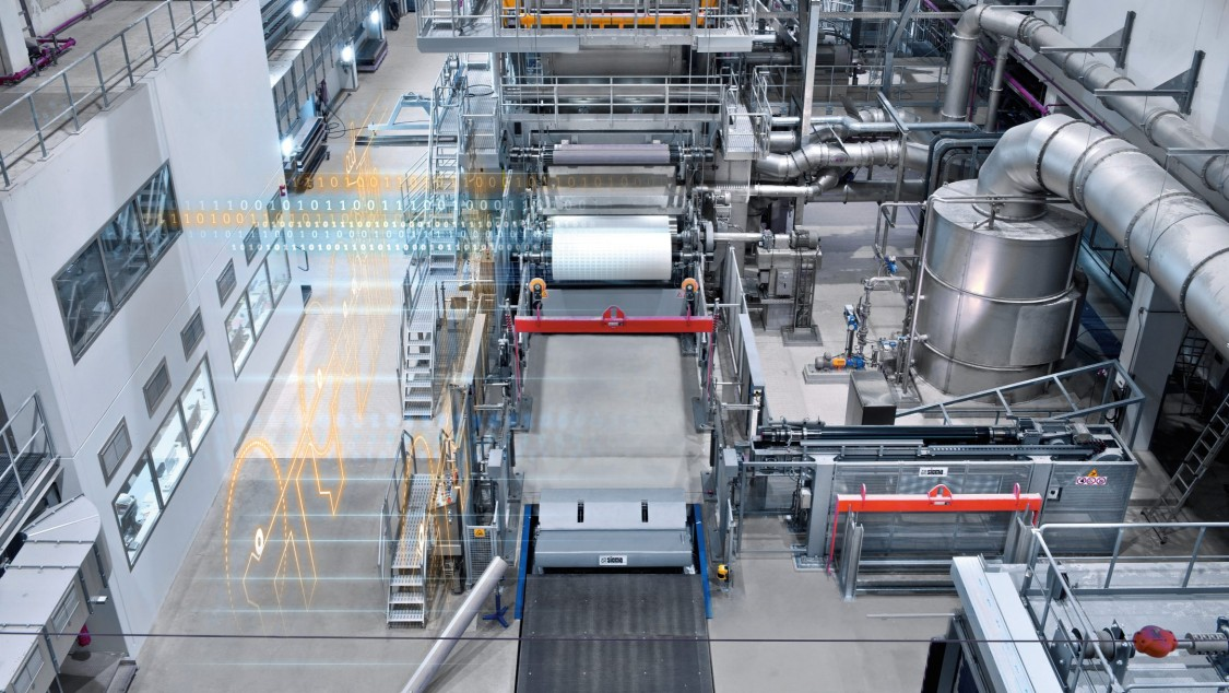 Industry software and digitalization for the pulp, paper, and tissue industry
