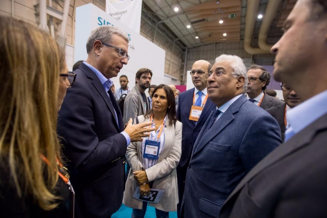 Siemens Portugal, António Costa, Pedro Pires de Miranda