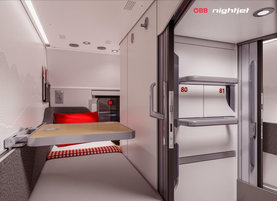 Night Jet - Minisuites Innenansicht