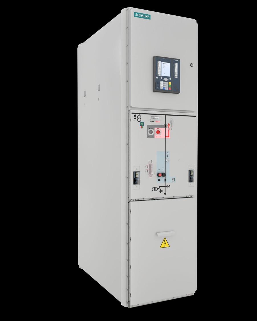 NXPLUS Rozdzielnica średniego napięcia 36 kV, 40,5 kV w izolacji gazowej