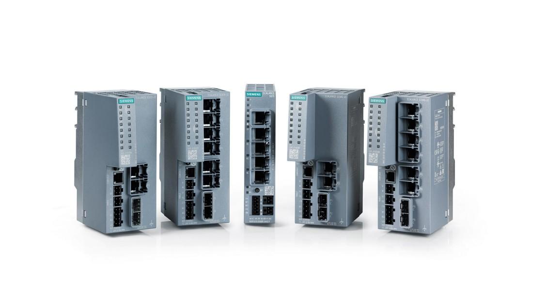 SCALANCE S Industrial Security Appliances als Teil der Netzwerksicherheit unterstützen das Industrial-Security-Konzept Defense in Depth
