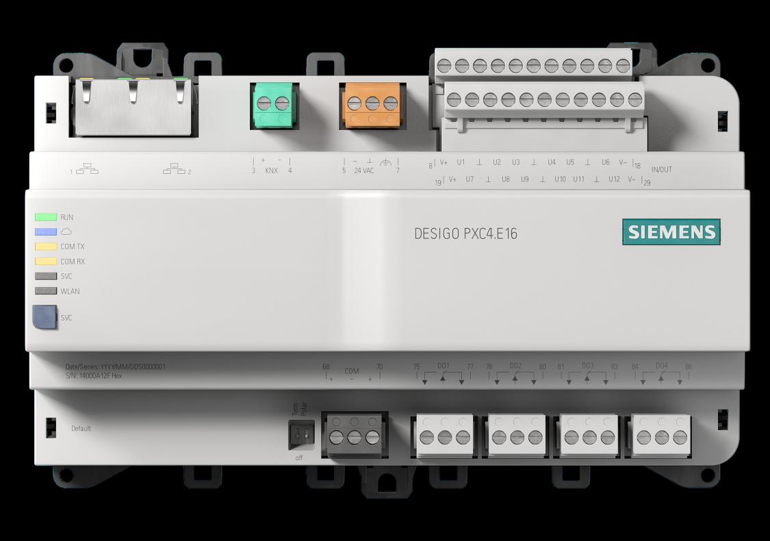 Desigo PXC4 BACnet/IP automation station