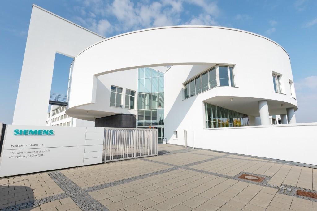 Haupteingang der Niederlassung Stuttgart