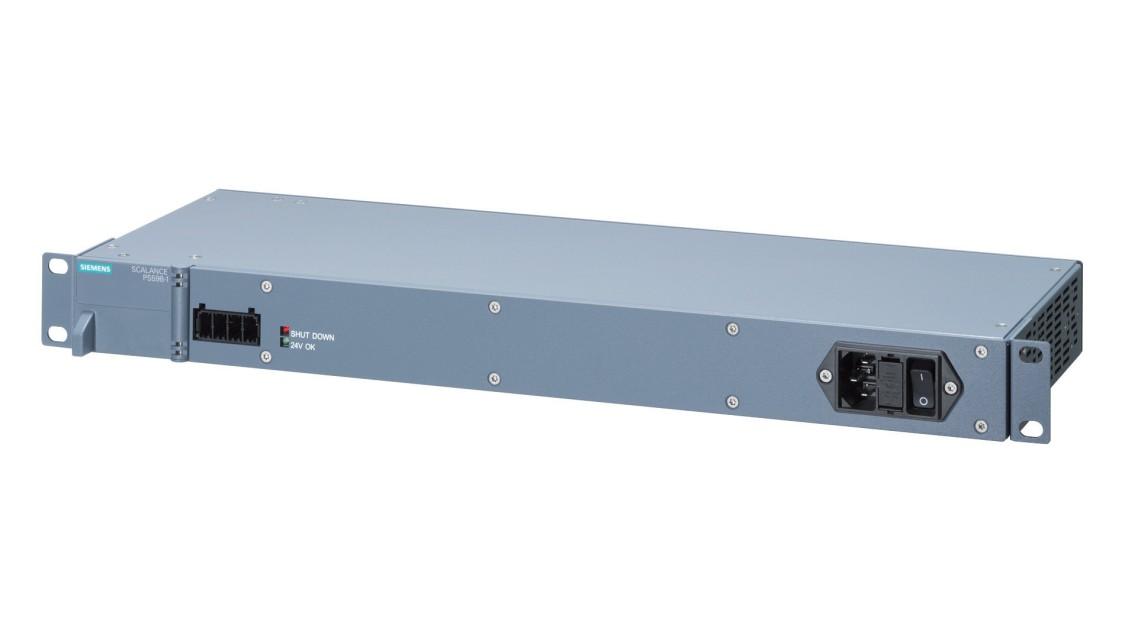 Schrägansicht einer Power Supply für SCALANCE X-500
