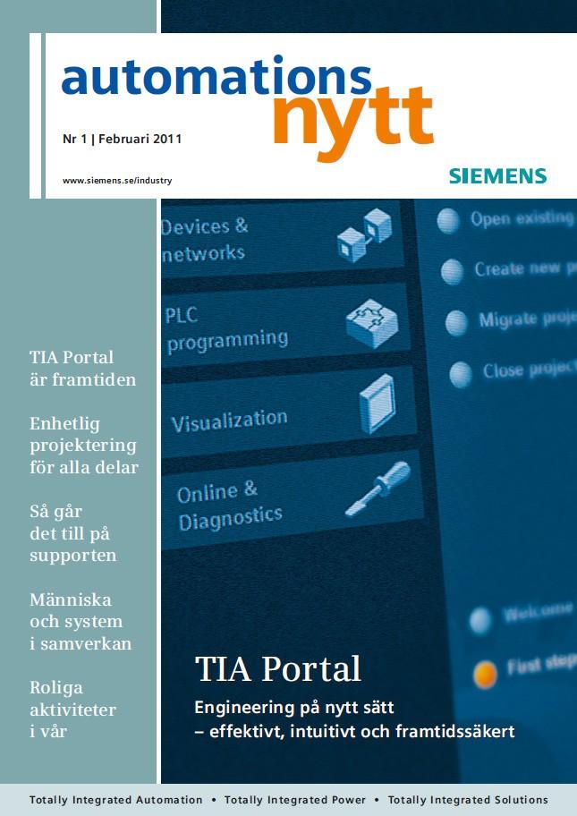 Automationsnytt Nr 1 | Februari 2011