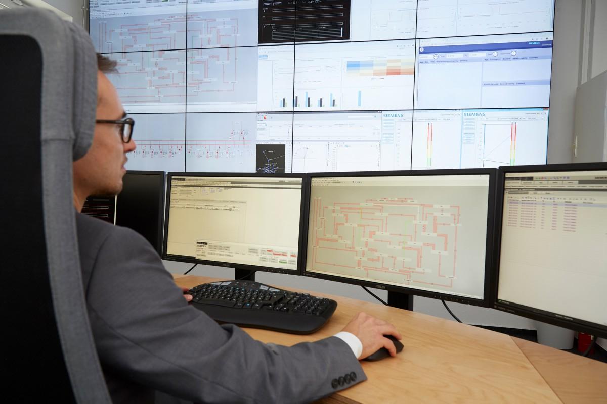 Siemens stellt Leitwarte der Zukunft vor