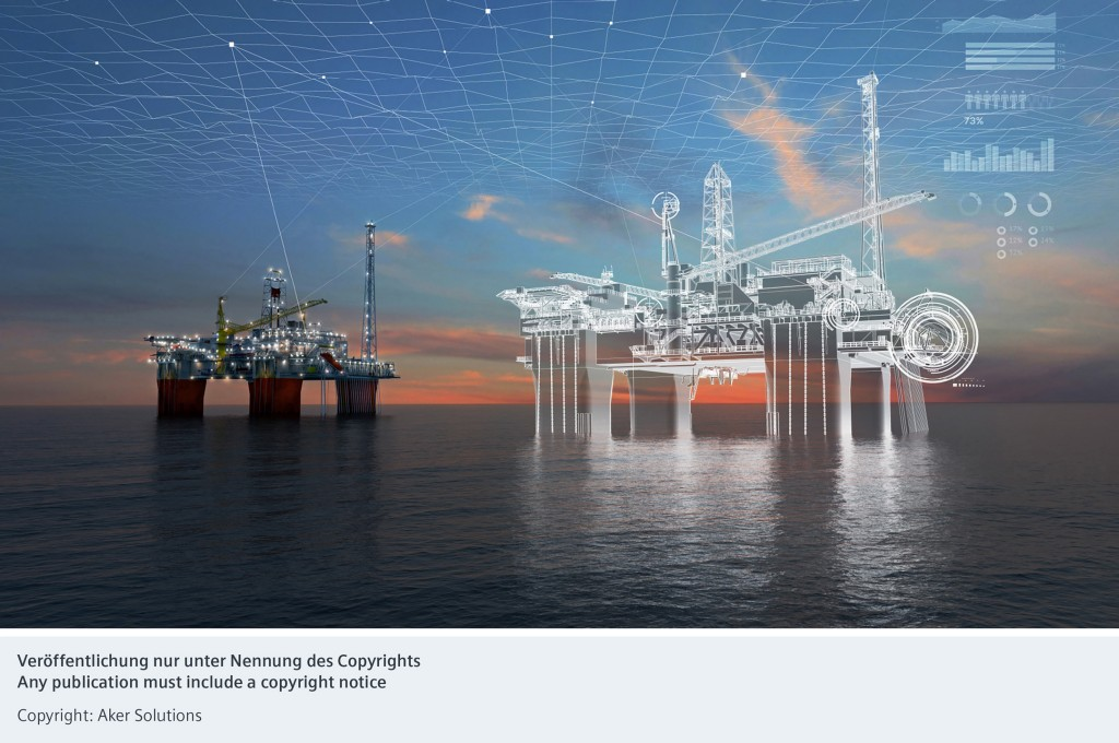 Siemens und Aker Solutions stärken mit strategischer Partnerschaft ihr digitales Angebot