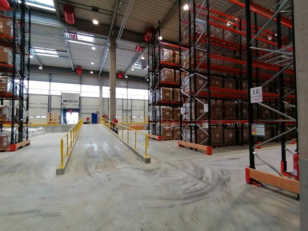 Siemens SI FR Photo Tym entrepôt stockage Hombourg