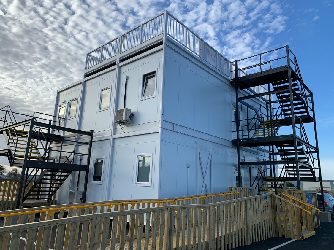 Premier Modular - Siemens Goole temporary office