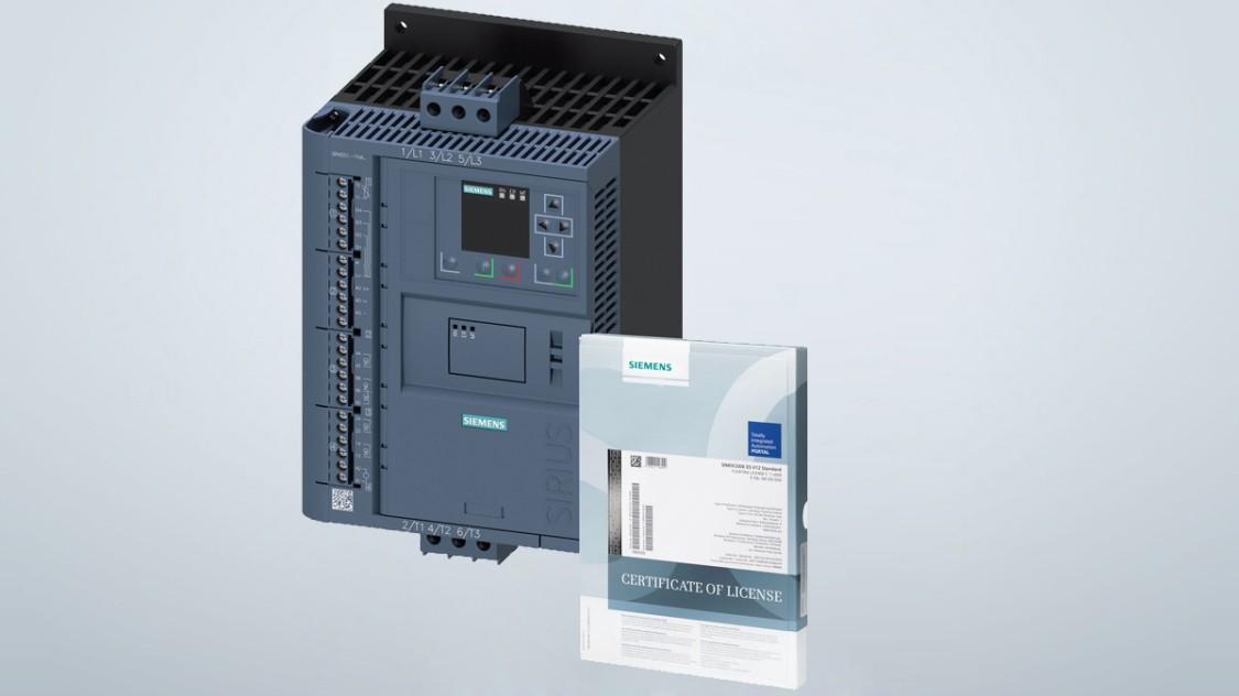 3RW55 Softstater starter kit