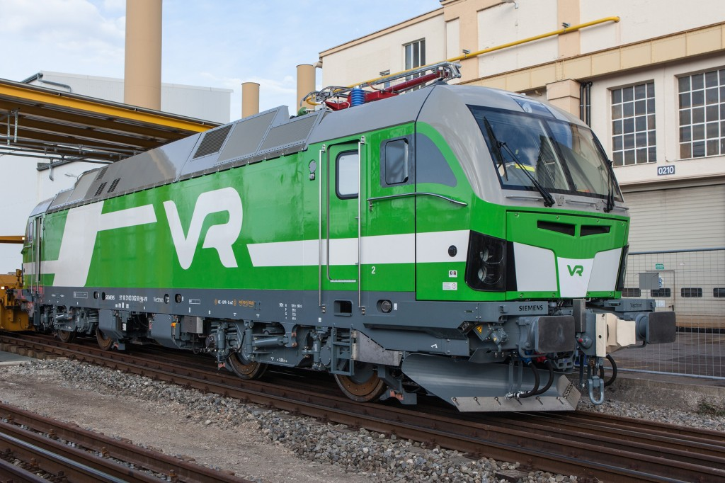 Siemens liefert Lokomotiven nach Finnland