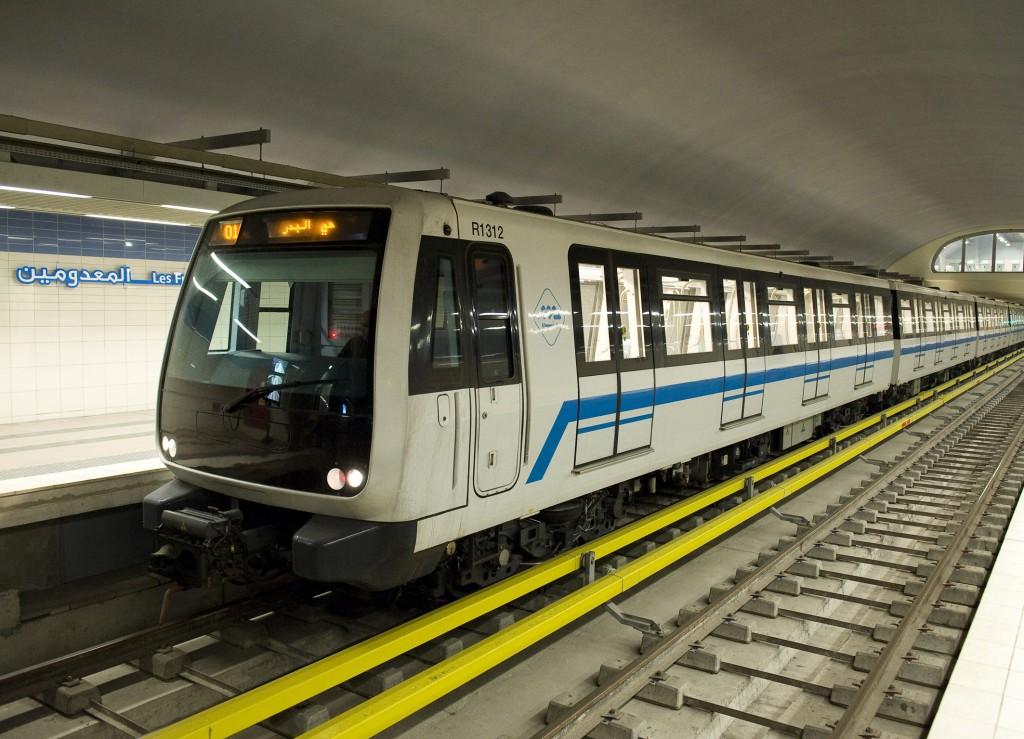 Erste Metrolinie der algerischen Hauptstadt nimmt den Passagierbetrieb auf
