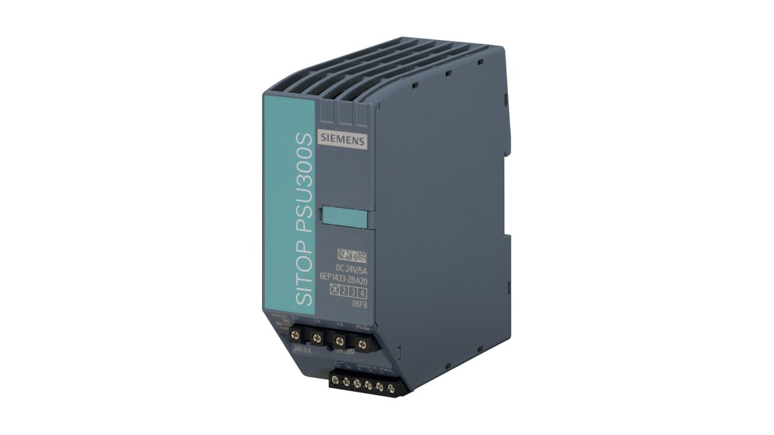 Product image SITOP PSU300S, 3-phase, DC 24 V/5 A
