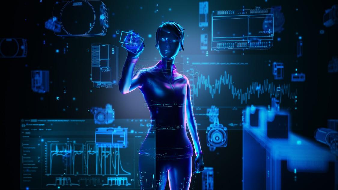 Keyvisual Digitalisierung in der Antriebstechnik