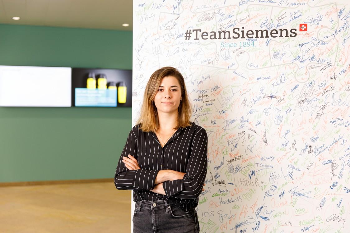 Portraitfoto Chiara - Siemens Mobility Schweiz Kampagne