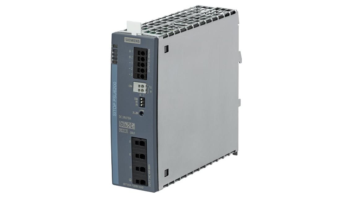 SITOP PSU6200, 3-phase, 24 V DC/10 A, 6EP3434-7SB00-3AX0