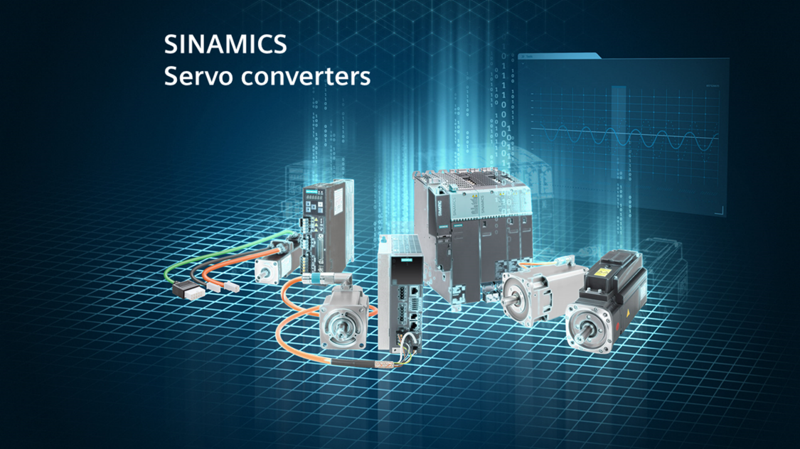 Key Visual SINAMICS Servo Converters