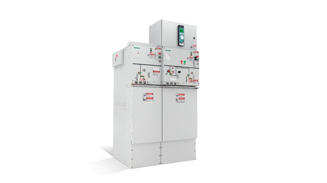 8DJH 36 gas-insulated, arc-resistant, up to 38 kV switchgear