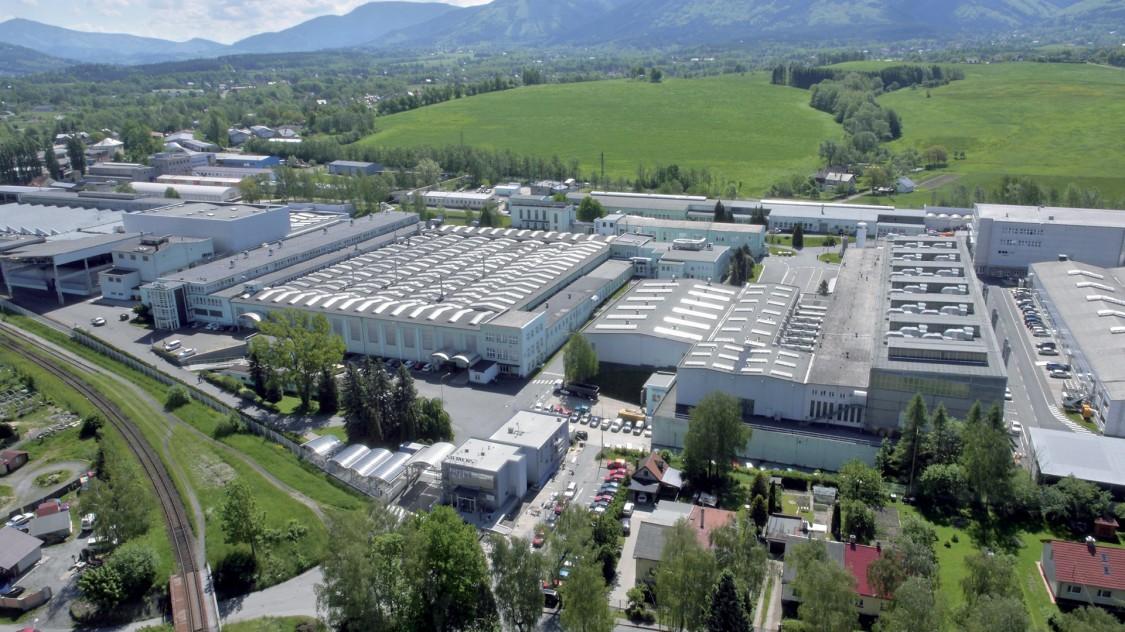 The motor factory in Frenštát