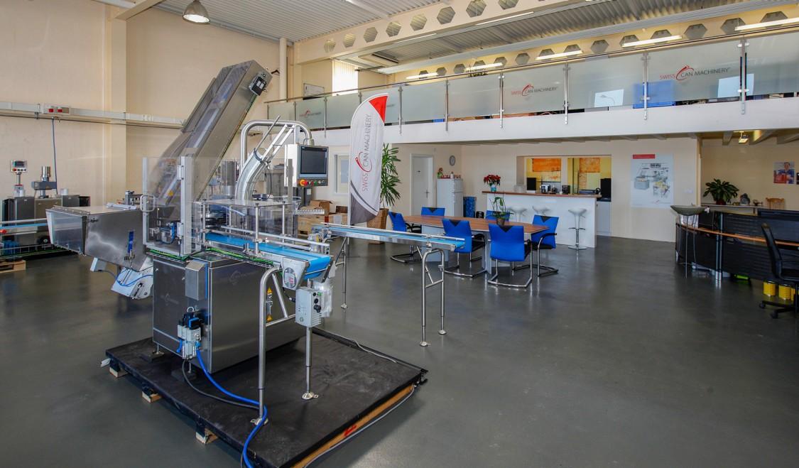 Swiss Can Machinery besetzt einen Nischenmarkt