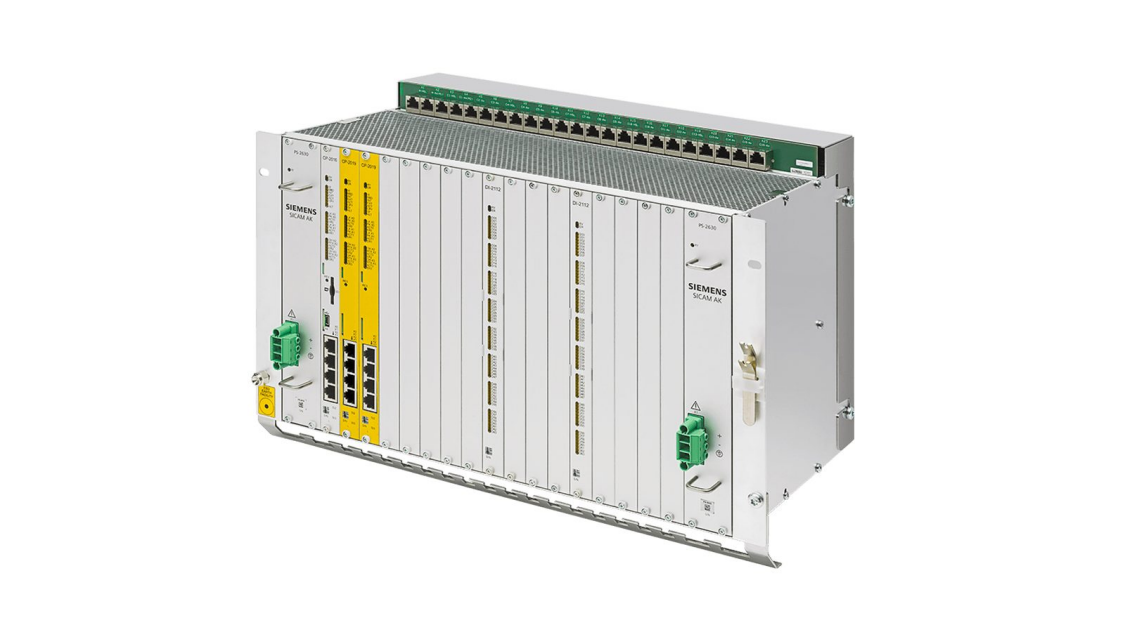 Substation automation unit - SICAM AK3 - front view