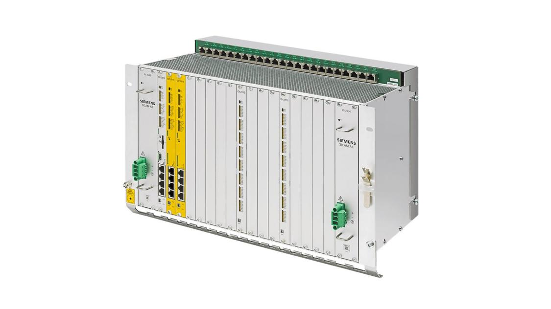 Substation automation unit - SICAM AK3 - front view