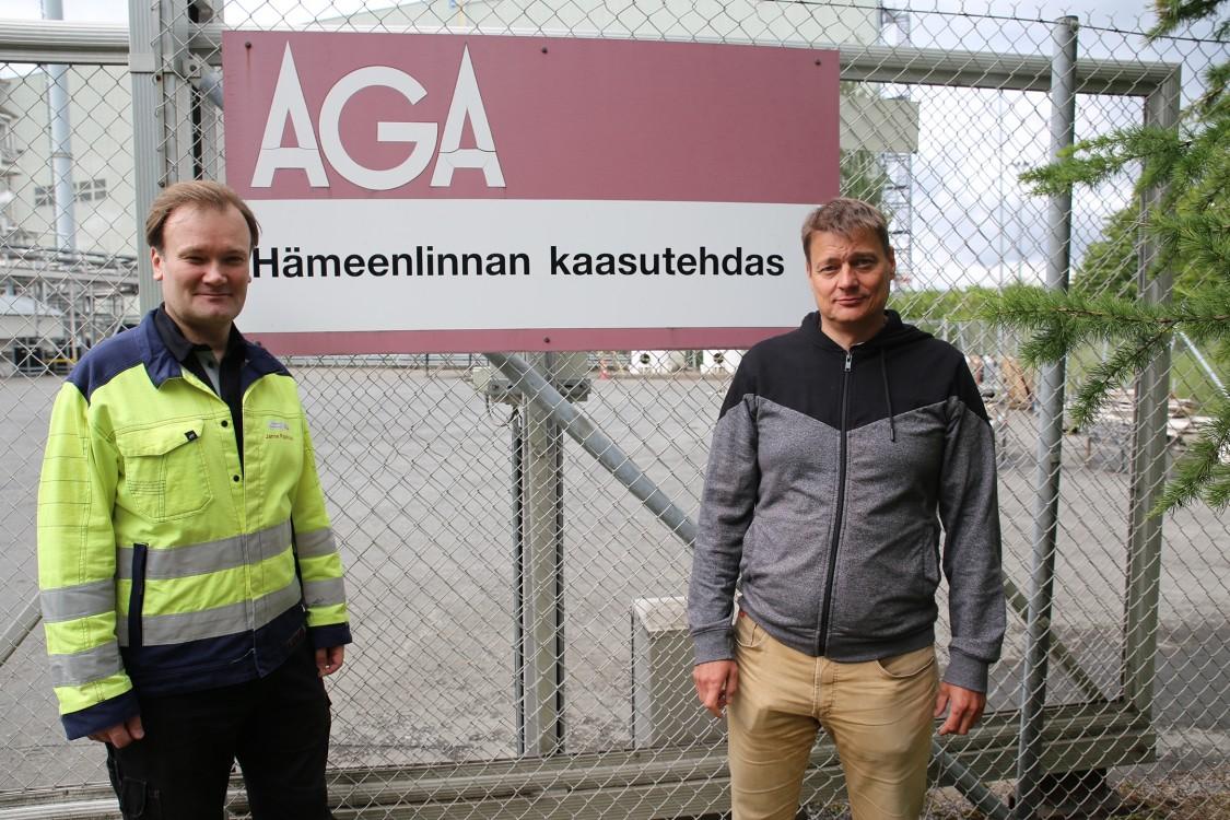 Janne Pajakoski ja Jarmo Turtio