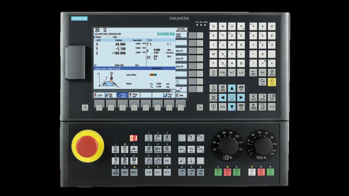 数控铣加工_SINUMERIK 808 | 数控系统 | Siemens