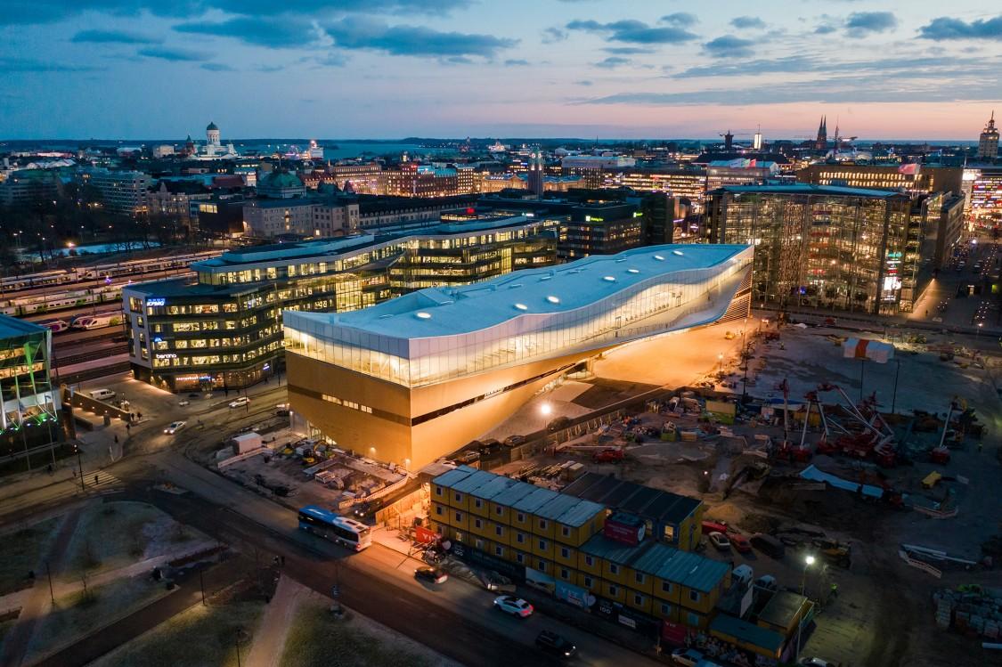 Helsingin keskustakirjasto Oodi