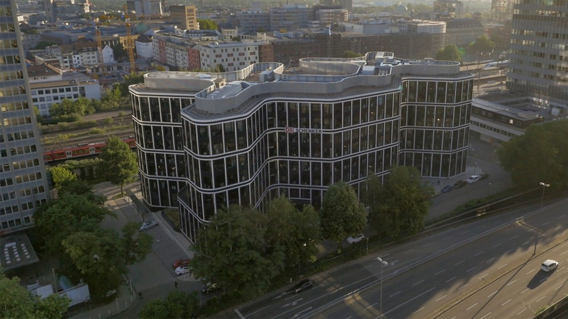 DB Schenker head office in Germany