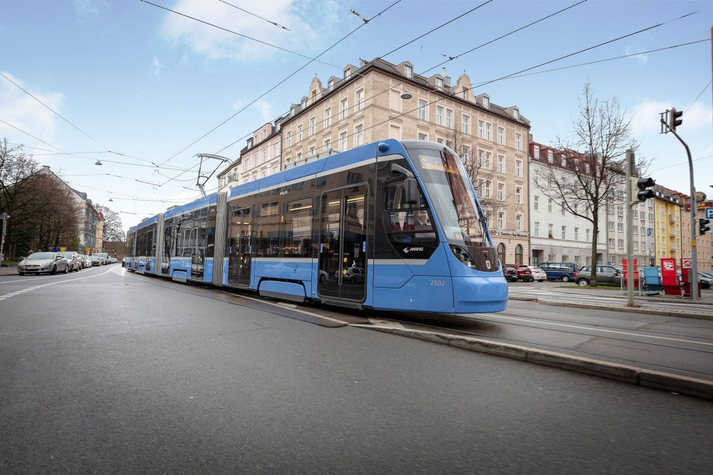 Siemens Mobility builds 73 additional trams for Munich