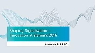 นวัตกรรมที่ Siemens 2016
