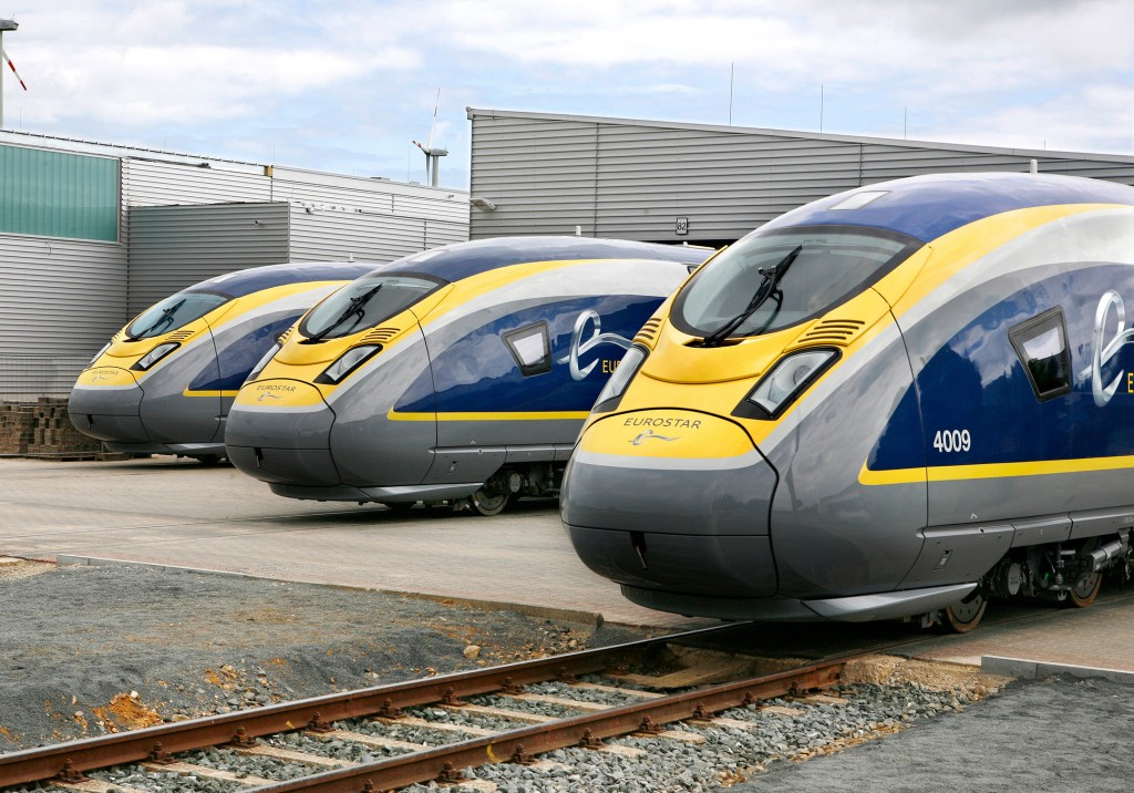 Velaro Eurostar e320 high-speed trains