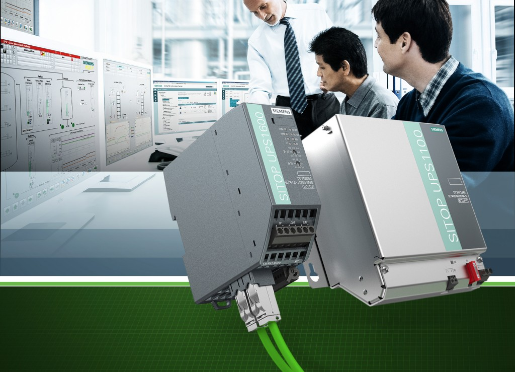 Siemens integrates Sitop power supply into Simatic PCS 7 process control system