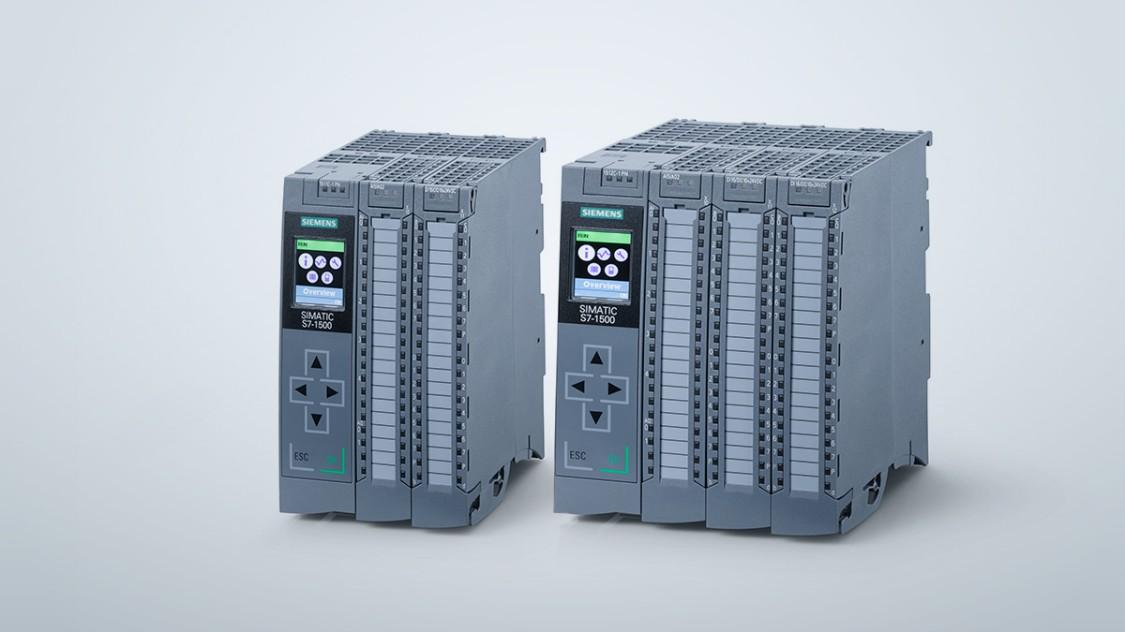 Dva druhy kompaktních řídicích jednotek řady SIMATIC S7-1500