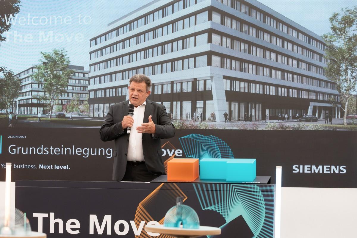 The Move, Frankfurt - Grundsteinlegung
