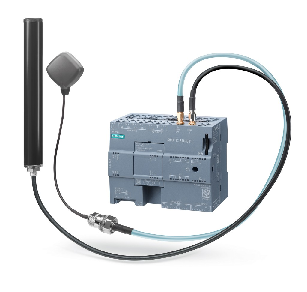 Siemens is extending the possible applications of Simatic remote terminal units through the new Simatic RTU3041C and firmware update V4.0 for the RTU3000C family.