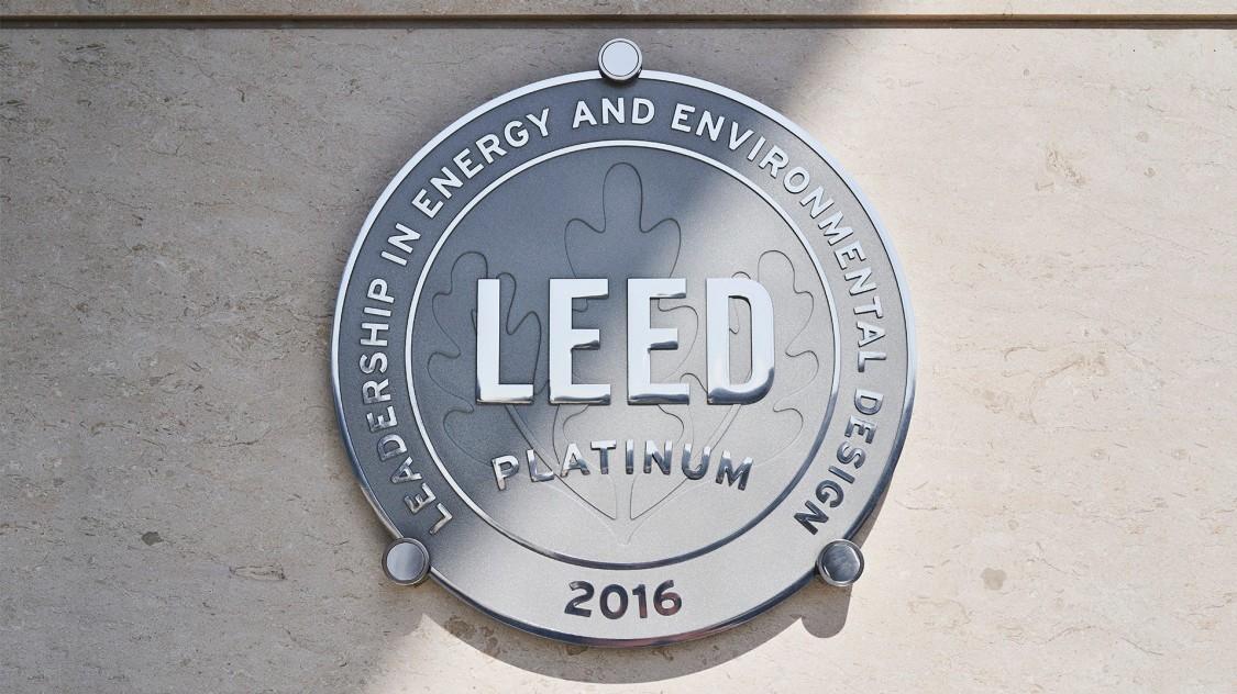 LEED Platinum 2016