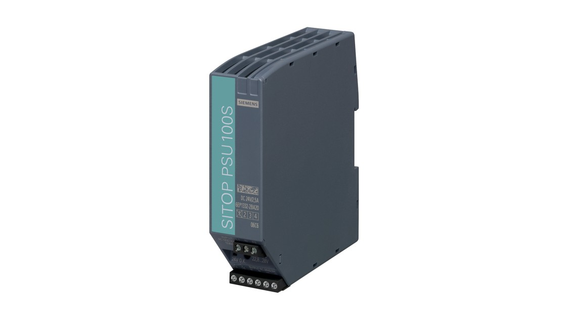 Product image SITOP PSU100S, 1-phase, DC 24 V/2.5 A