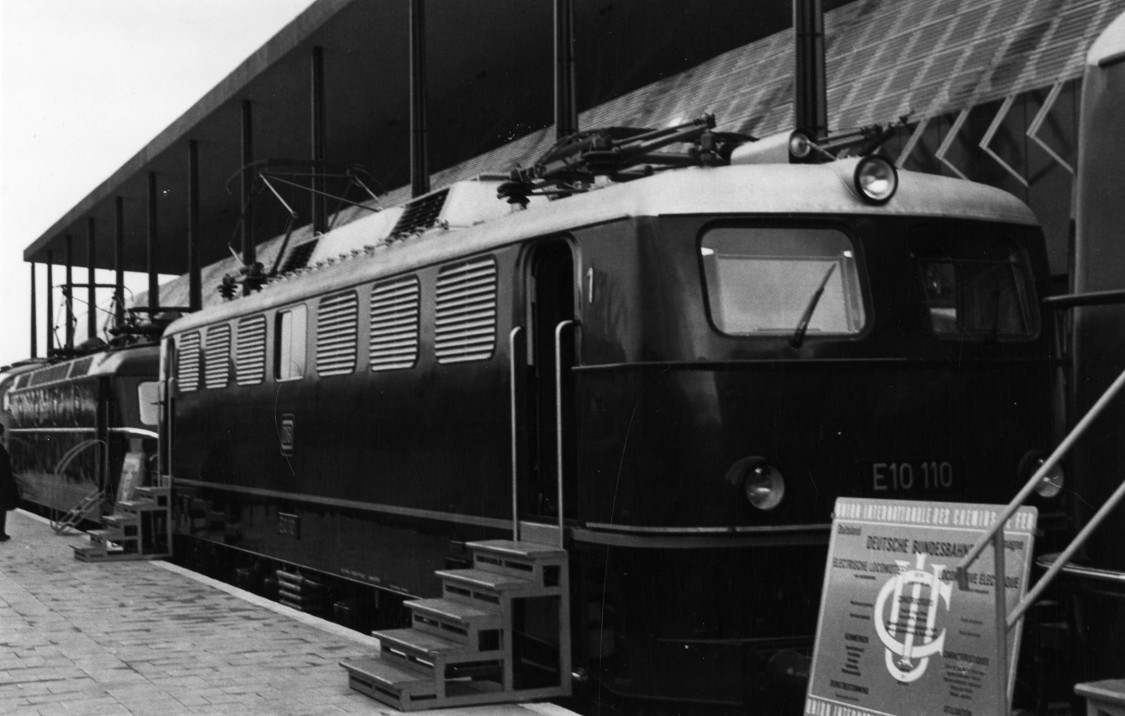Lokomotive E 10 110, 1958