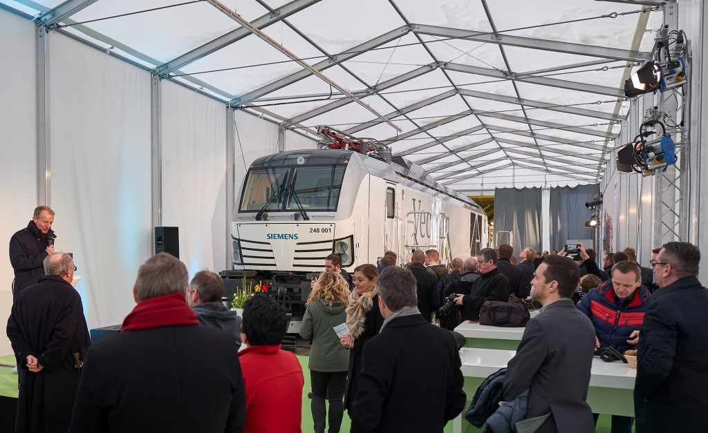 First Vectron Dual Mode left the factory in Munich-Allach