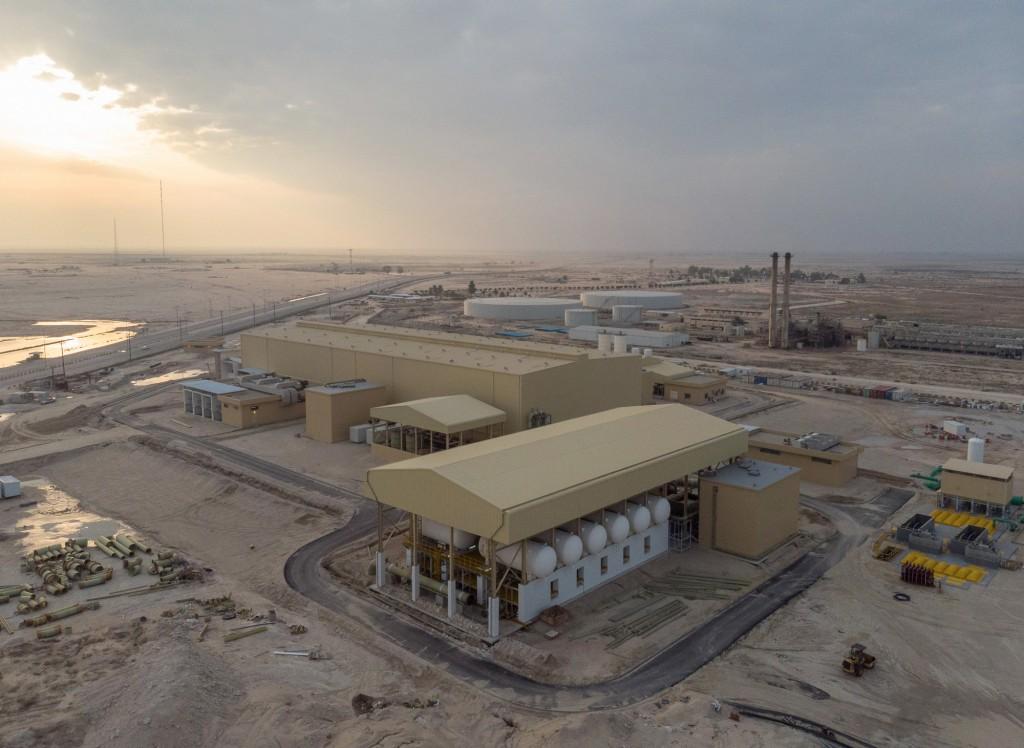 desalination plant Al Khafji