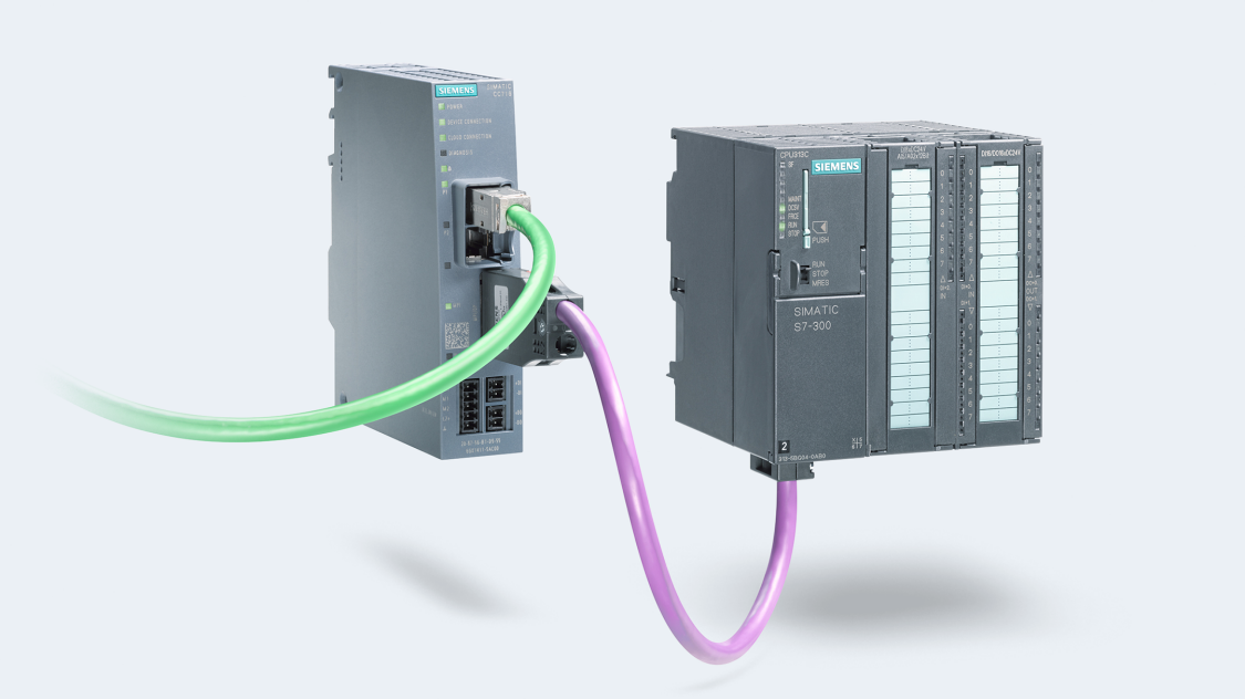 IIoT Gateways SIMATIC CloudConnect 7 – even existing plants can benefit from digitalization. A special highlight: The existing SIMATIC STEP 7 program does not have to be modified.