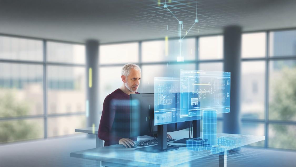Desigo CC: integrierte, skalierbare und offene Gebäudemanagement-Plattform