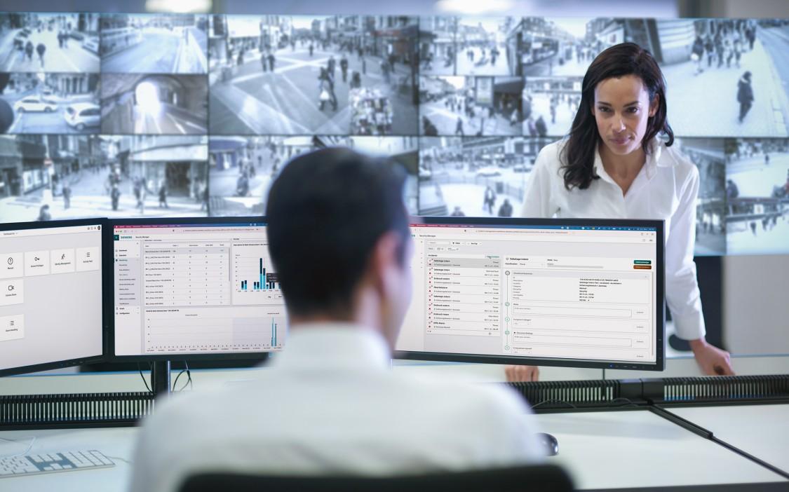 Siemens Gebäudesicherheit | Videoüberwachung mit Siveillance Video