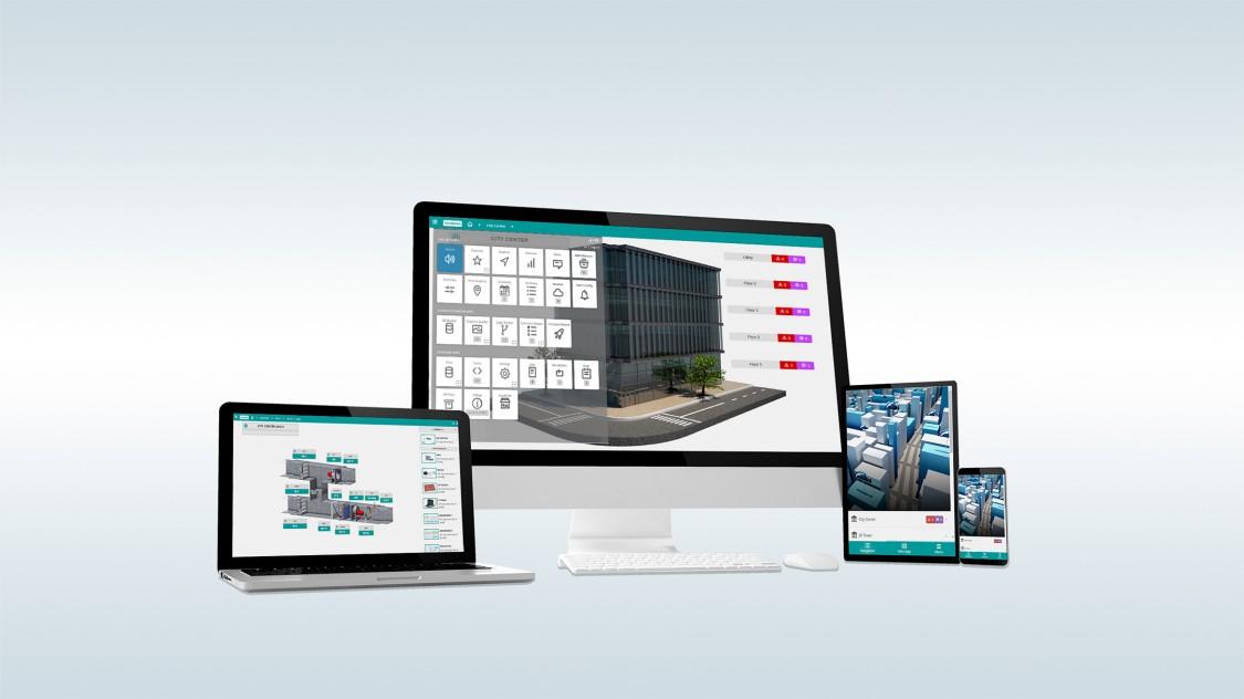 Desigo Optic building management software improves data access and visibility