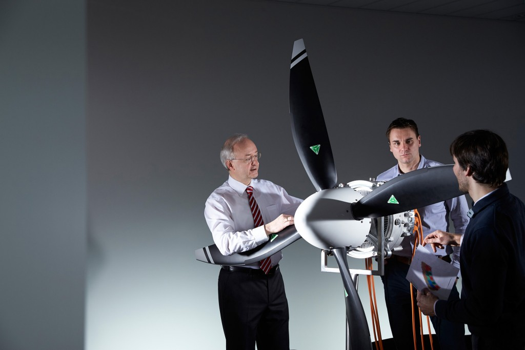 Rekord-Elektromotor für Flugzeuge